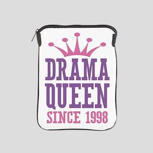 Drama Queen Since 1998 iPad Sleeve