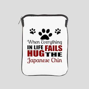 Hug The Japanese chin iPad Sleeve