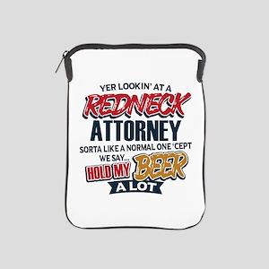 Redneck Attorney iPad Sleeve