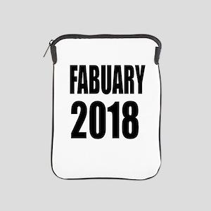 February 2018 Birthday Designs iPad Sleeve