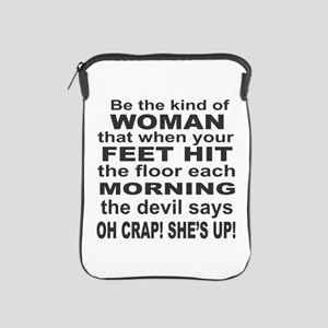 Oh Crap Devil iPad Sleeve
