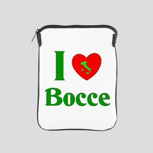 I Love Bocce iPad Sleeve