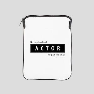 Actor iPad Sleeve