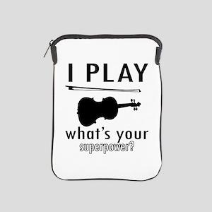 Cool Violin Designs iPad Sleeve