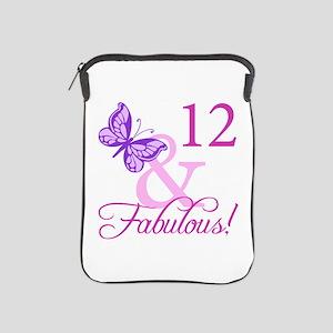 Fabulous 12th Birthday iPad Sleeve
