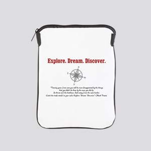Explore. Dream. Discover. iPad Sleeve