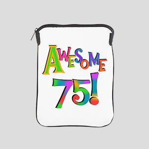 Awesome 75 Birthday iPad Sleeve