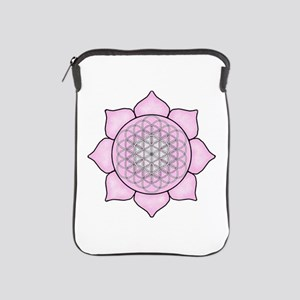 Lotus Pink2 iPad Sleeve