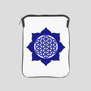 Lotus Blue6 iPad Sleeve
