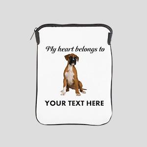Personalized Boxer Dog iPad Sleeve