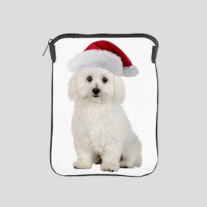 Bichon Frise Christmas iPad Sleeve