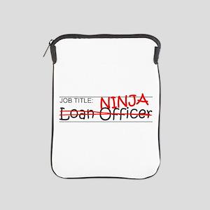 Job Ninja Loan Officer iPad Sleeve