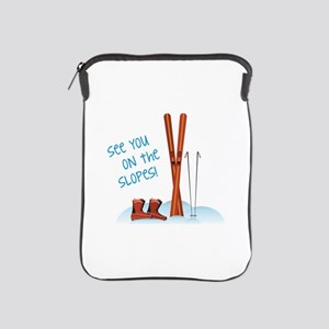 See you on the slopes! iPad Sleeve