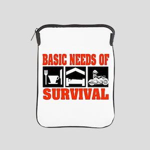Basic Needs of Survival iPad Sleeve