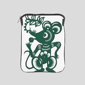 Rat Chinese Asian Astrology Zodiac Sig iPad Sleeve