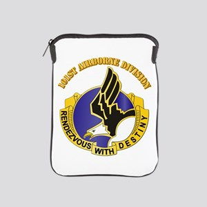DUI - 101st Airborne Division with Text iPad Sleev