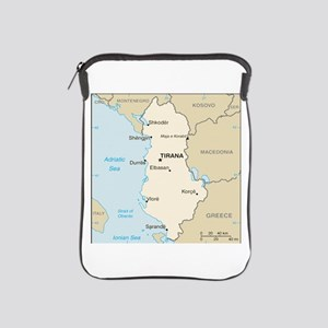 Albanian Map iPad Sleeve
