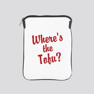 Wheres the Tofu? iPad Sleeve