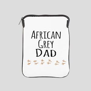 African Grey Dad iPad Sleeve