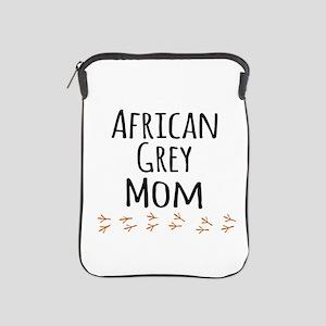 African Grey Mom iPad Sleeve