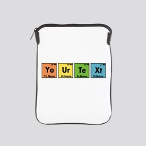 Personalized Your Text Periodic Table iPad Sleeve