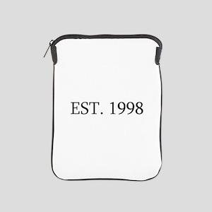 Est 1998 iPad Sleeve