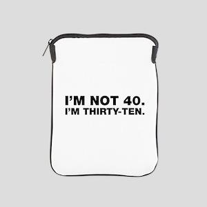 40th birthday iPad Sleeve