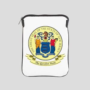 New Jersey Seal iPad Sleeve
