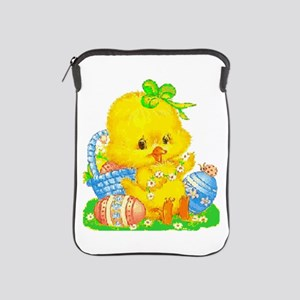 Vintage Cute Easter Duckling And Egg S Ipad Sleeve