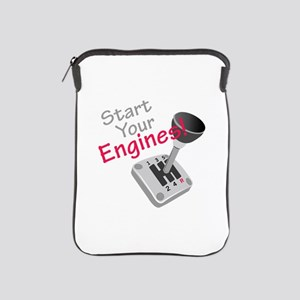 Start Your Engines iPad Sleeve