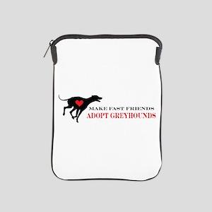Adopt a Greyhound iPad Sleeve