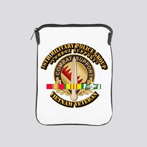 16th Military Police Group w SVC Ribbon iPad Sleev