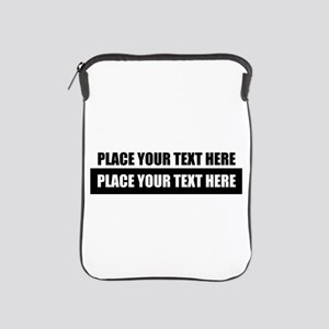 Text message Customized iPad Sleeve