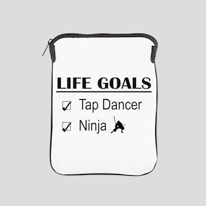 Tap Dancer Ninja Life Goals iPad Sleeve