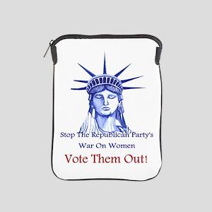 Stop Republicans War On Women iPad Sleeve