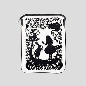 Alice in Wonderland Silhouette iPad Sleeve