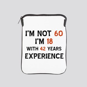 60 year old designs iPad Sleeve