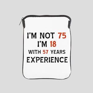 75 year old designs iPad Sleeve