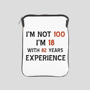 100 year old designs iPad Sleeve