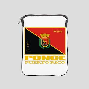 Ponce Flag iPad Sleeve
