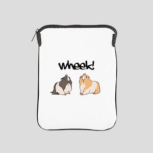 Wheek Guinea pigs iPad Sleeve