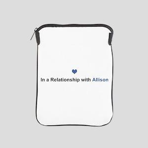 Allison Relationship iPad Sleeve