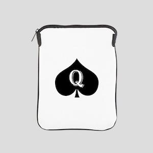 Queen of spades iPad Sleeve