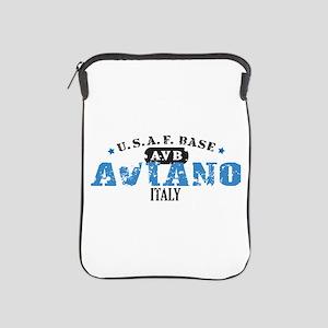 Aviano Air Force Base iPad Sleeve
