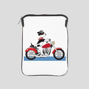 Dog Motorcycle iPad Sleeve