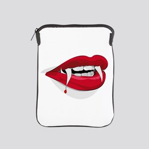 Halloween Vampire Teeth iPad Sleeve