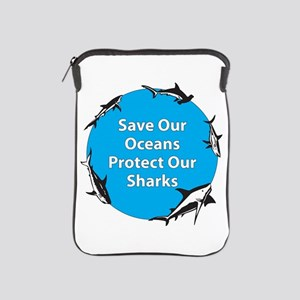 Save Our Oceans. Protect Our iPad Sleeve