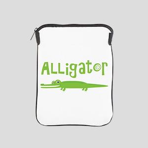 Cute Alligator iPad Sleeve