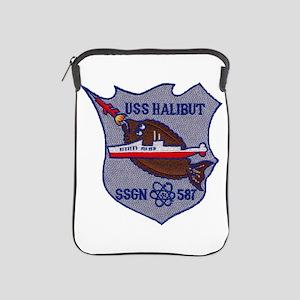 USS HALIBUT iPad Sleeve