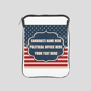 Personalized USA President iPad Sleeve